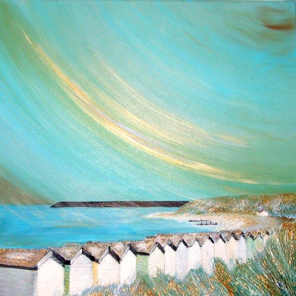 Glistening Beach Huts Glis Ford Spit