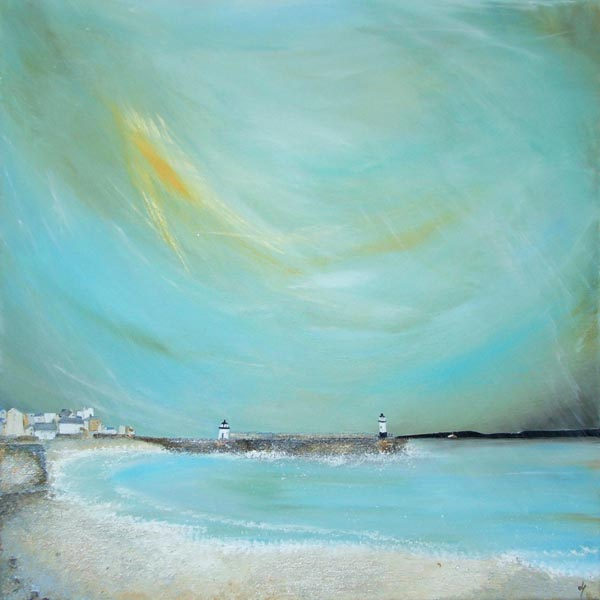 Incandescent St. Ives Skies - Lucy Young