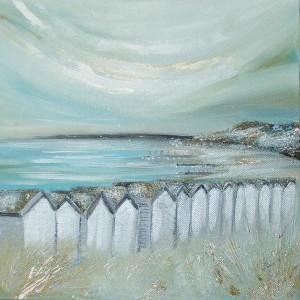 Mudeford spits Dorset painting