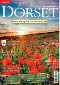 Lucy's paintings featured in Dorset Magazine